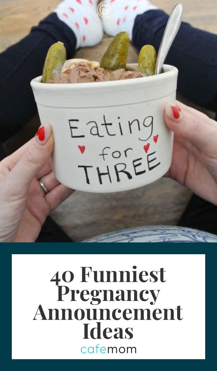 40 Funny Pregnancy Announcement Ideas You'll Want to Steal ...