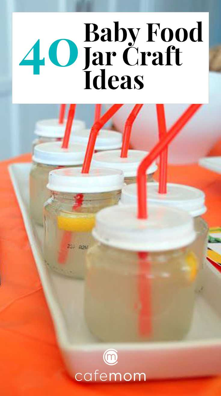 40 Genius Baby Food Jar Craft Ideas Cafemom Com