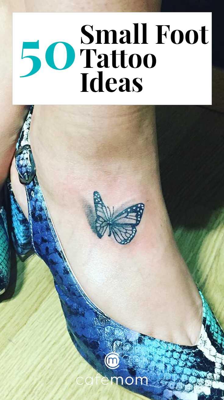 50 Small Foot Tattoo Ideas To Show Off Cafemom Com