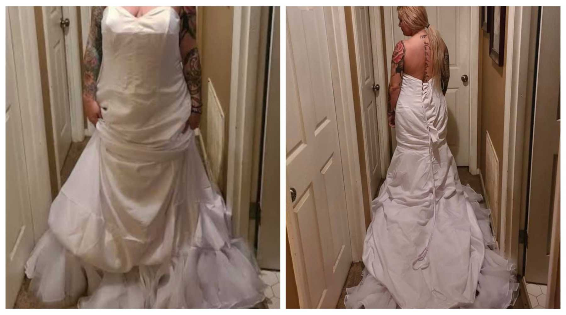 Angry Bride Flips Out On Dress Store Only To Learn She Had The Gown On Inside Out Cafemom Com