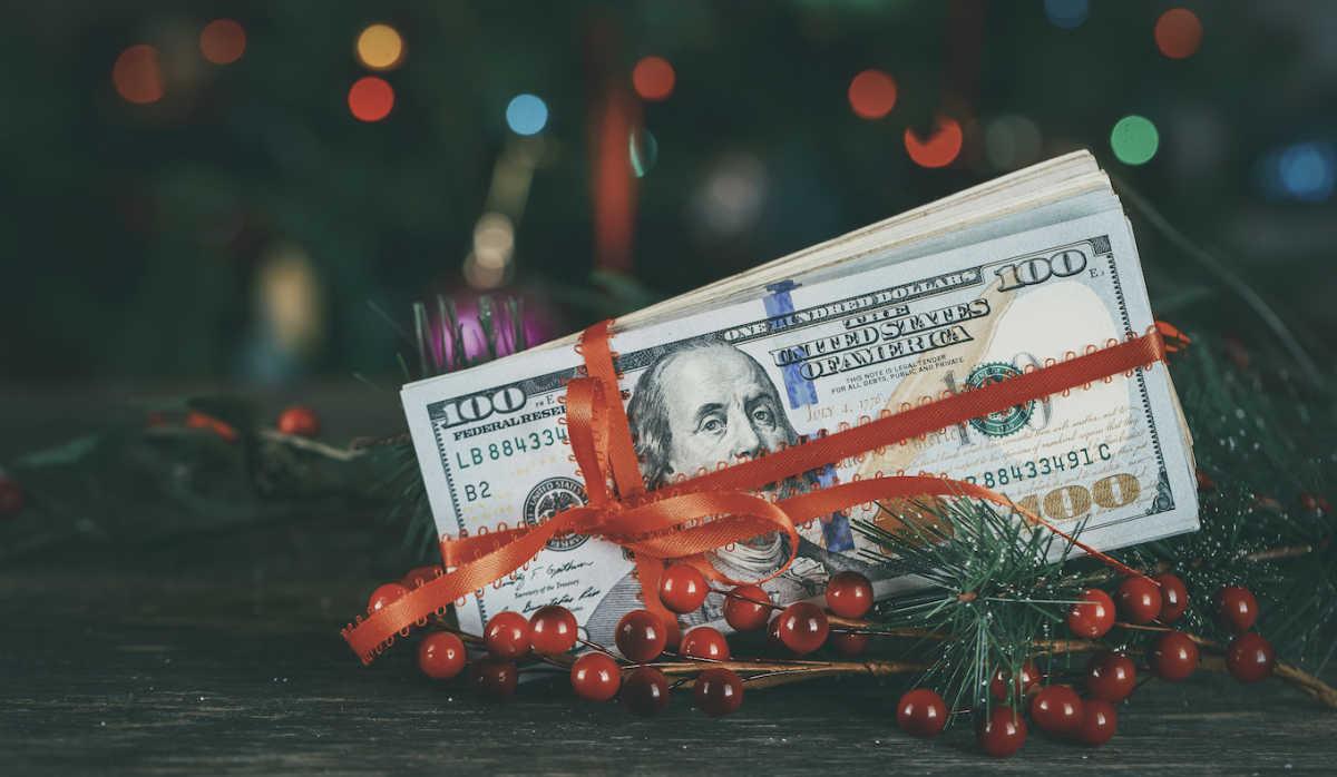 Рождественский бюджет наличными