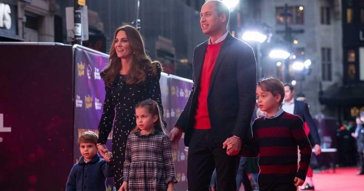 Prince George, Princess Charlotte, Prince Louis Make ...