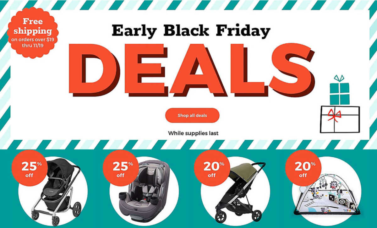 Mamas To Be Can Get Baby Essentials For Dirt Cheap Thanks To Early Black Friday Sales Cafemom Com