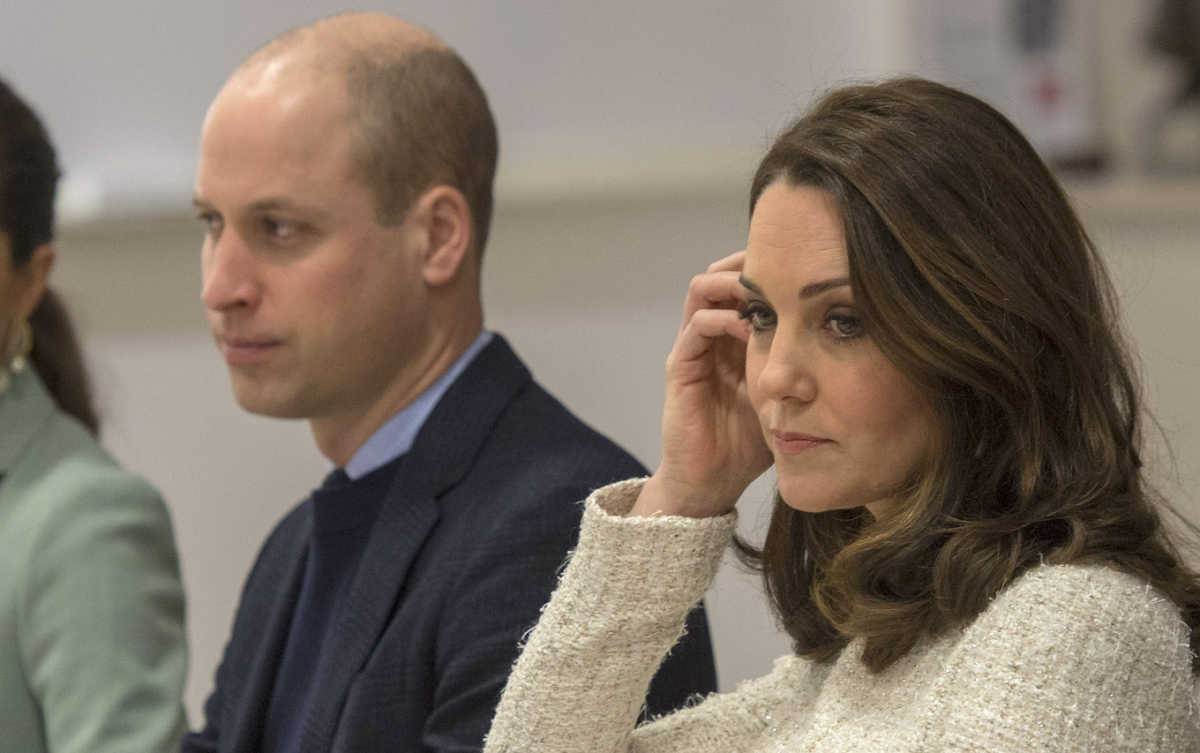 Kate Middleton looking bored Prince William