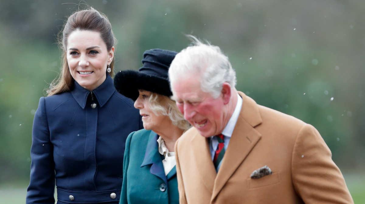 Kate Middleton, Camilla, Prince Charles