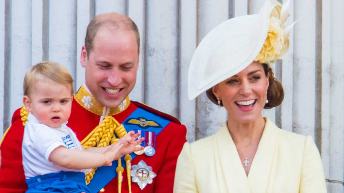 Kate Middleton, Prince William, Prince Louis, Trooping, feature image 2176