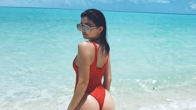 Jenner booty kylie Kylie Jenner