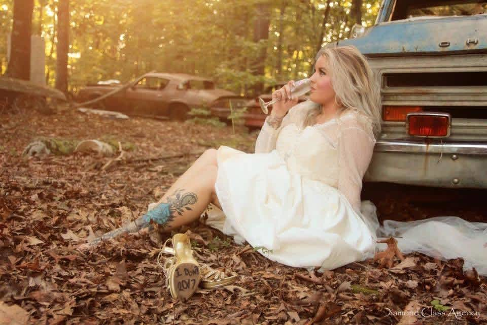 Woman Trashes Her Wedding Dress In Epic Photo Shoot Cafemom Com