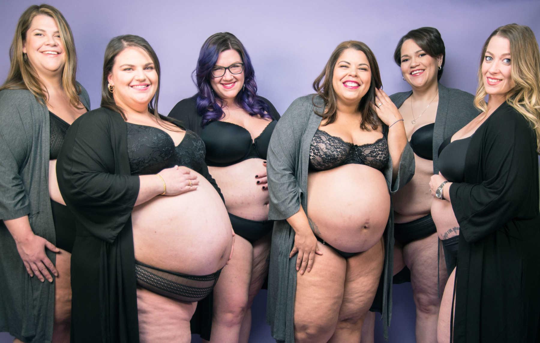 Huge Pregnant Belly Bbw