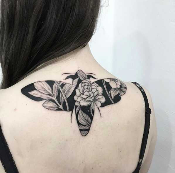 Astronaut Silhouette Tattoo