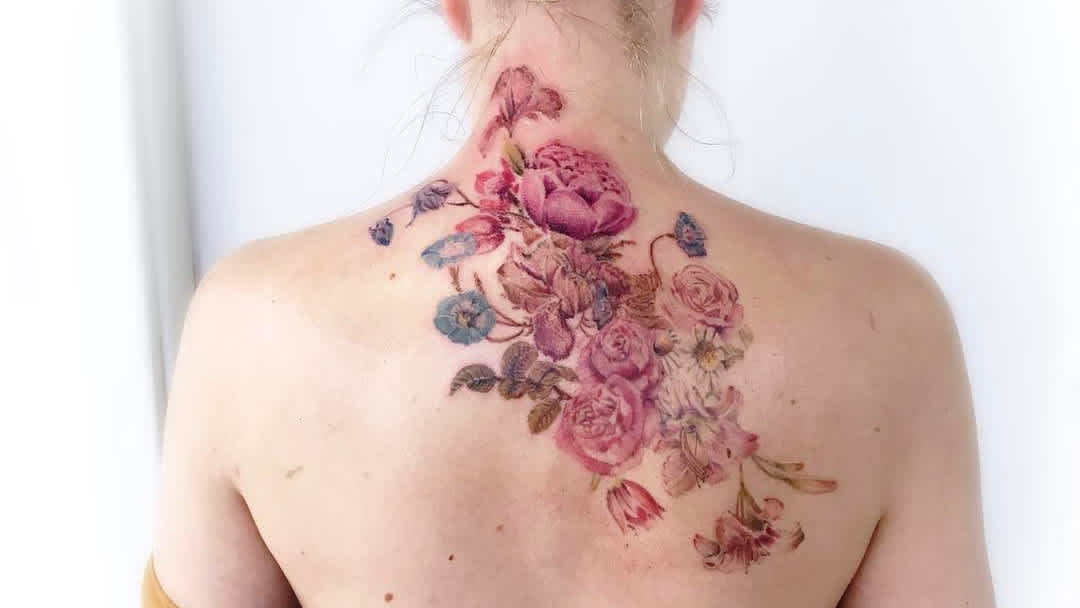 40 Vintage Flower Tattoos That Are Perfect For Old Souls Cafemom Com