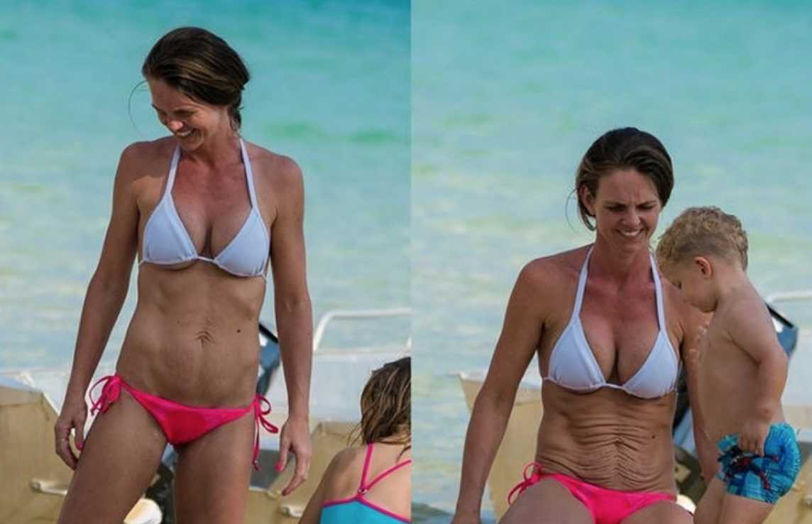 Girls in bikinis with stretch marks Mom Of 6 Shamed For Stretch Marks Husband Claps Back Cafemom Com