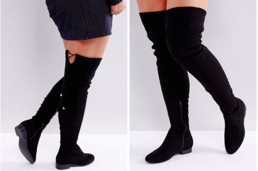 20 Wide-Calf Boots for Thick Mamas With