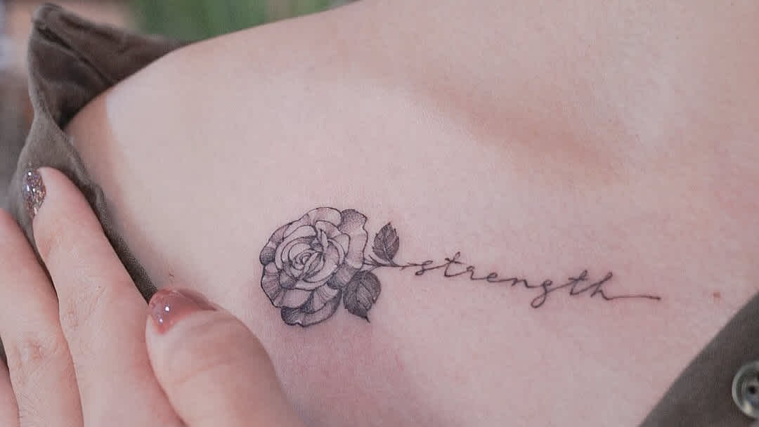 17 Strength Tattoos To Inspire Anyone S Inner Toughness Cafemom Com