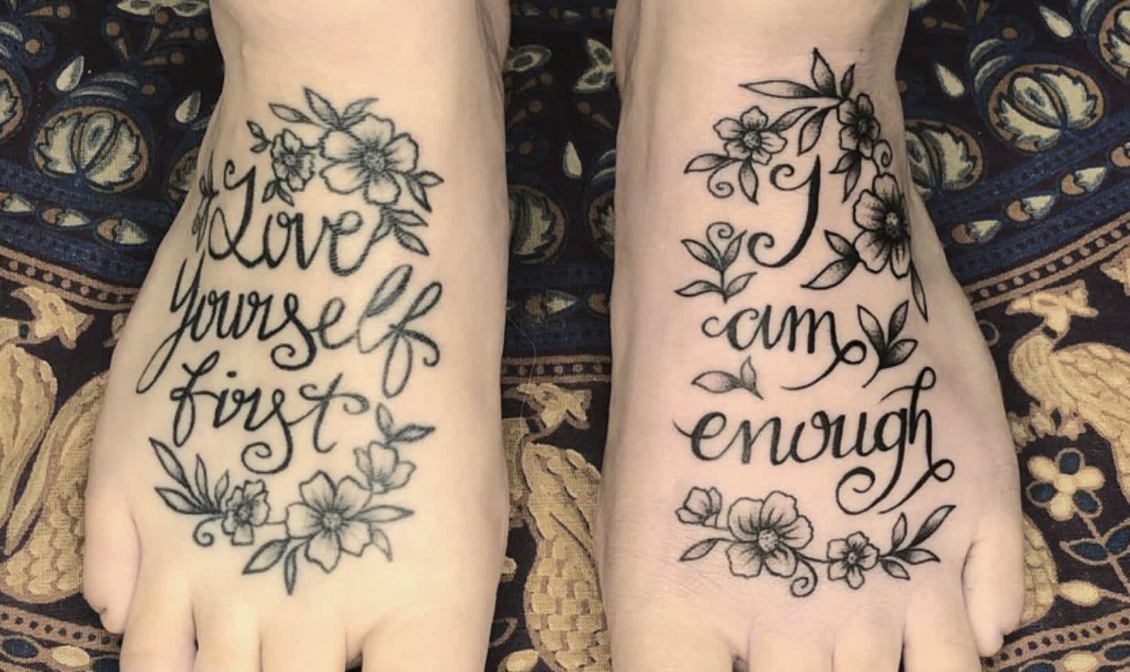 Pretty Proud Self Love Tattoos To Express Self Acceptance Cafemom Com