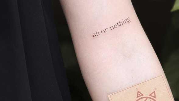 20 Small Quote Tattoos Cafemom Com