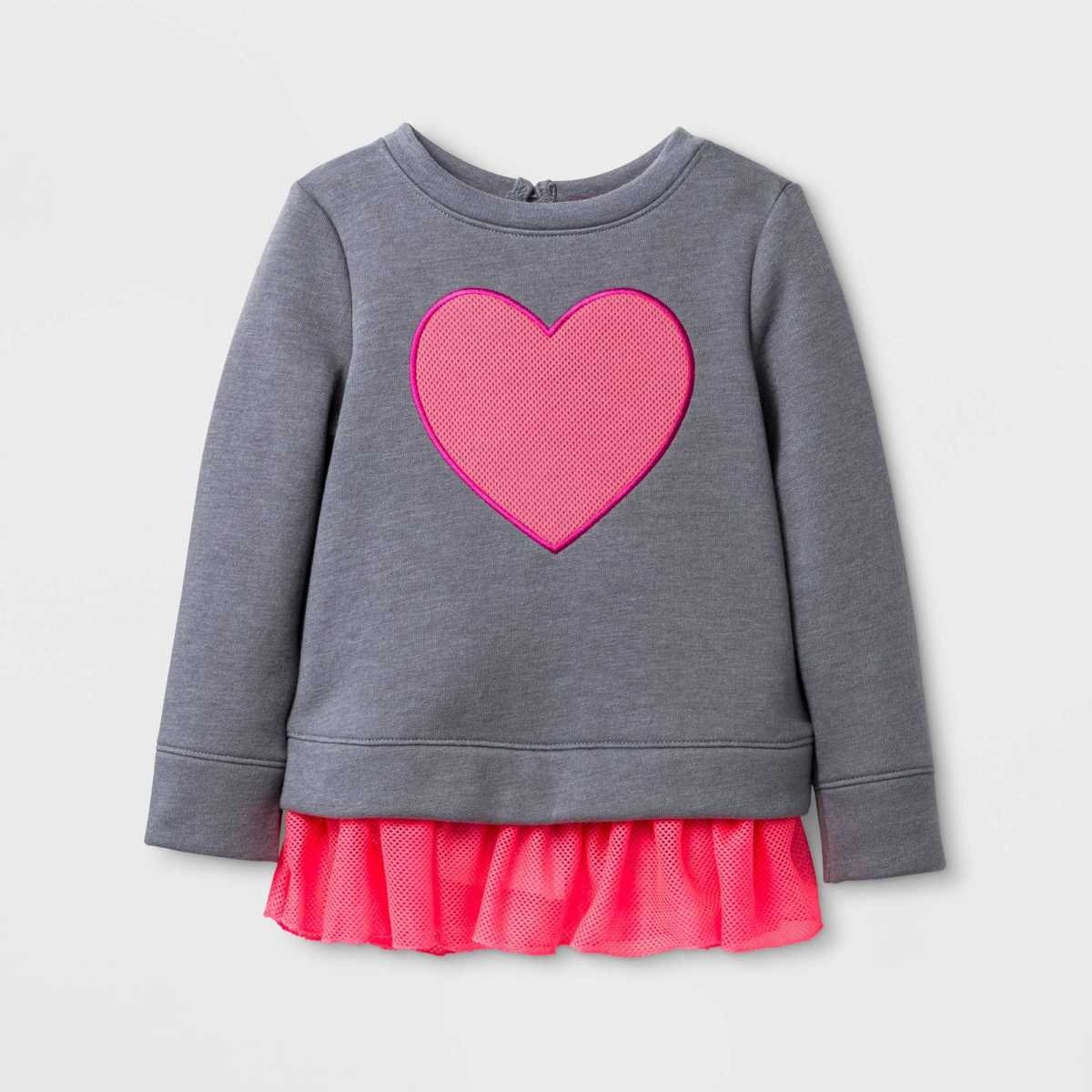 Heart pullover