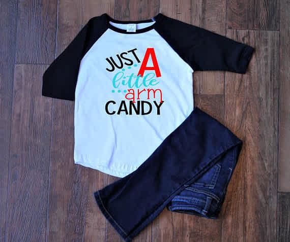 Arm candy shirt