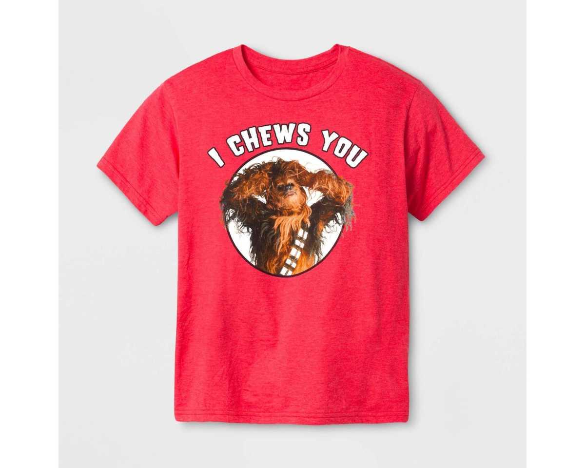 Chewbacca Valentine's Shirt