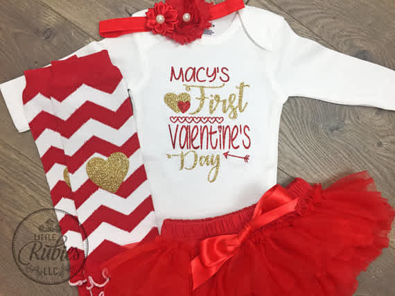 First Valentine's Day outfit