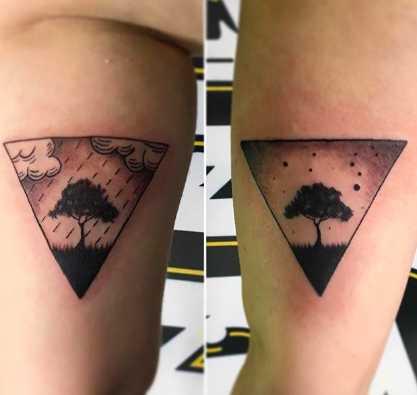 Tatuajes inspirados en el clima