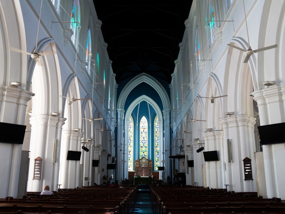 Place of Interest - St Andrew Cathedral - Inside