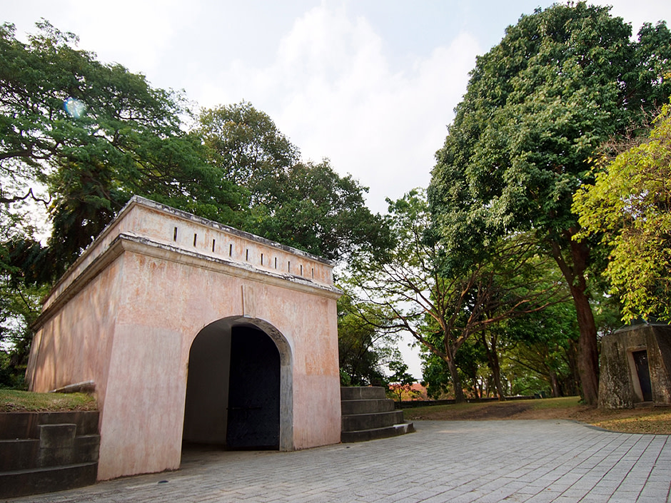 Fort Canning Park 1