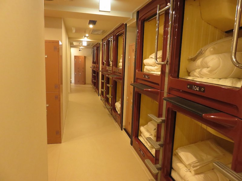9 Affordable Capsule Hotels in Tokyo for Solo Travellers Article Photo Business 1 Resized