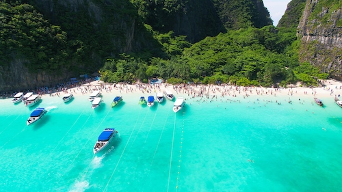 Maya Bay Crowd Article Photo Canva Resized