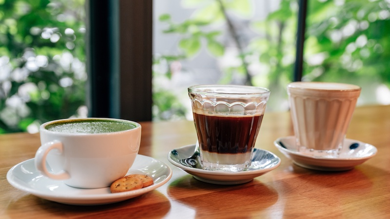 5. Delicious coffee and tea Resized
