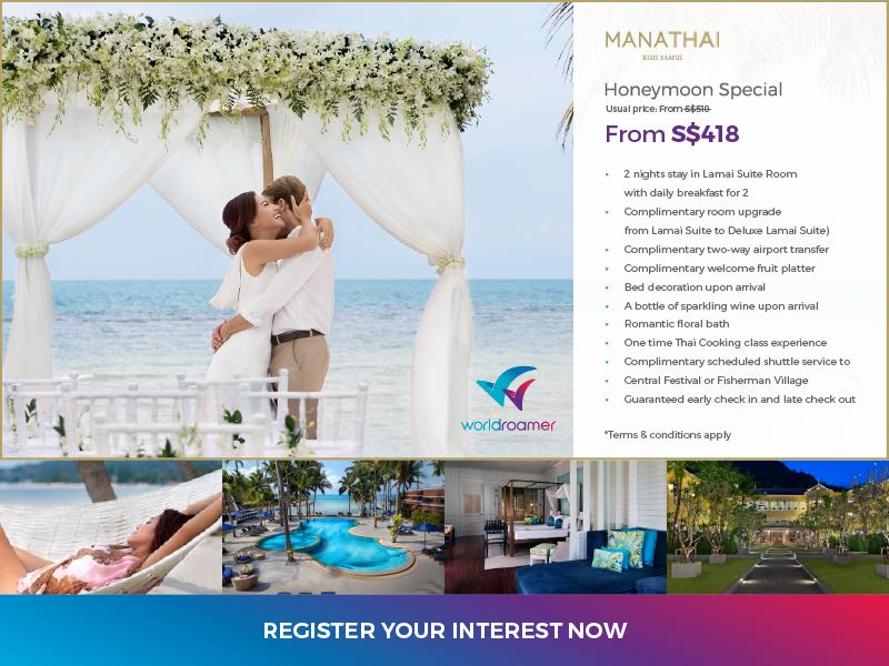 Manathai Koh Samui Honeymoon Holiday Package-R2