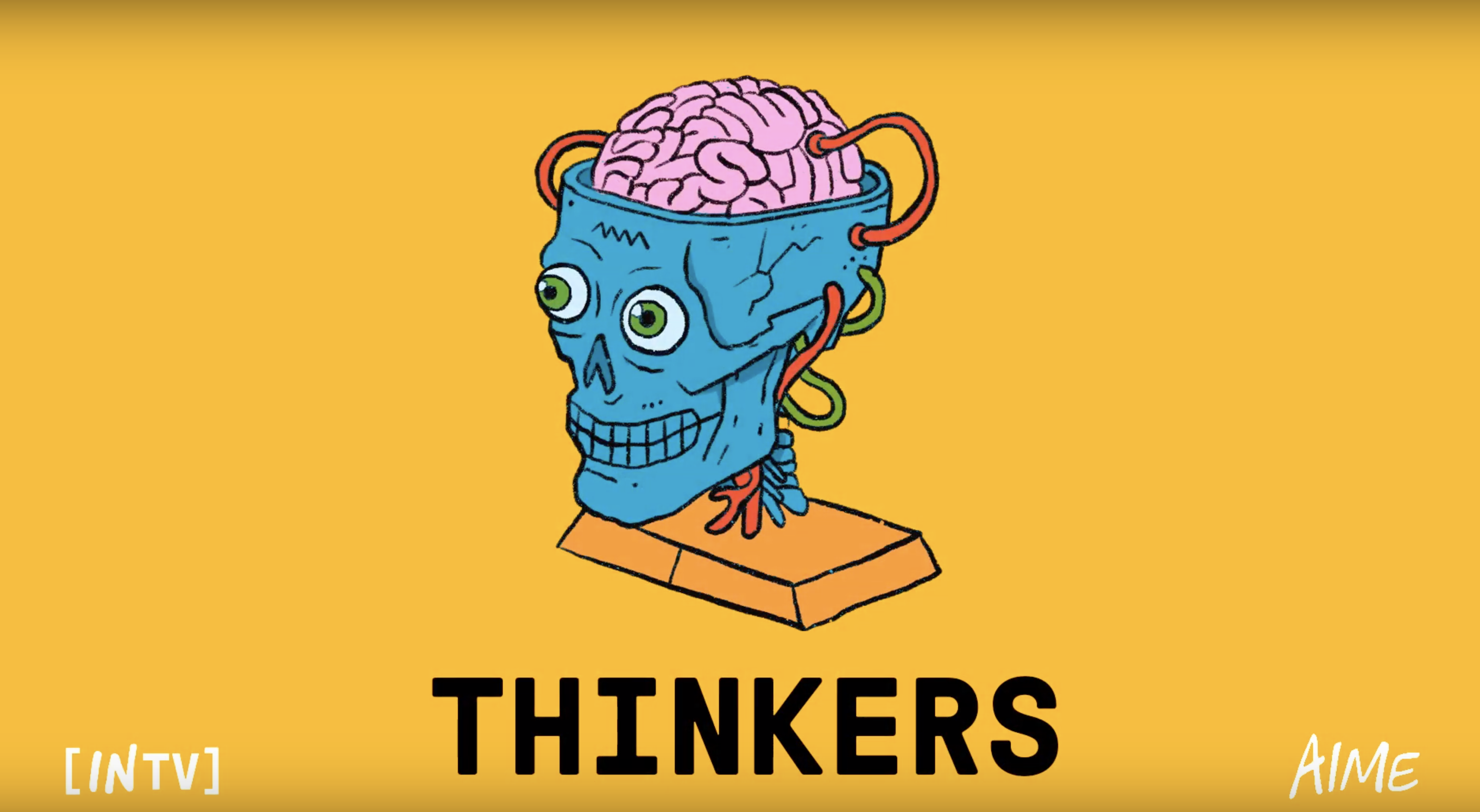 IN{TV} - EP 1 - THINKERS: Emphatic imagination, creating new realities, creative Mathematics and books of wisdom