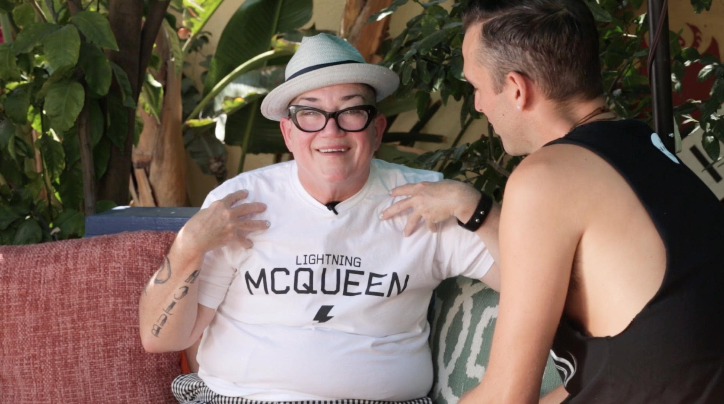 From the vault - Lea DeLaria: There is enough for us all to be treated equally