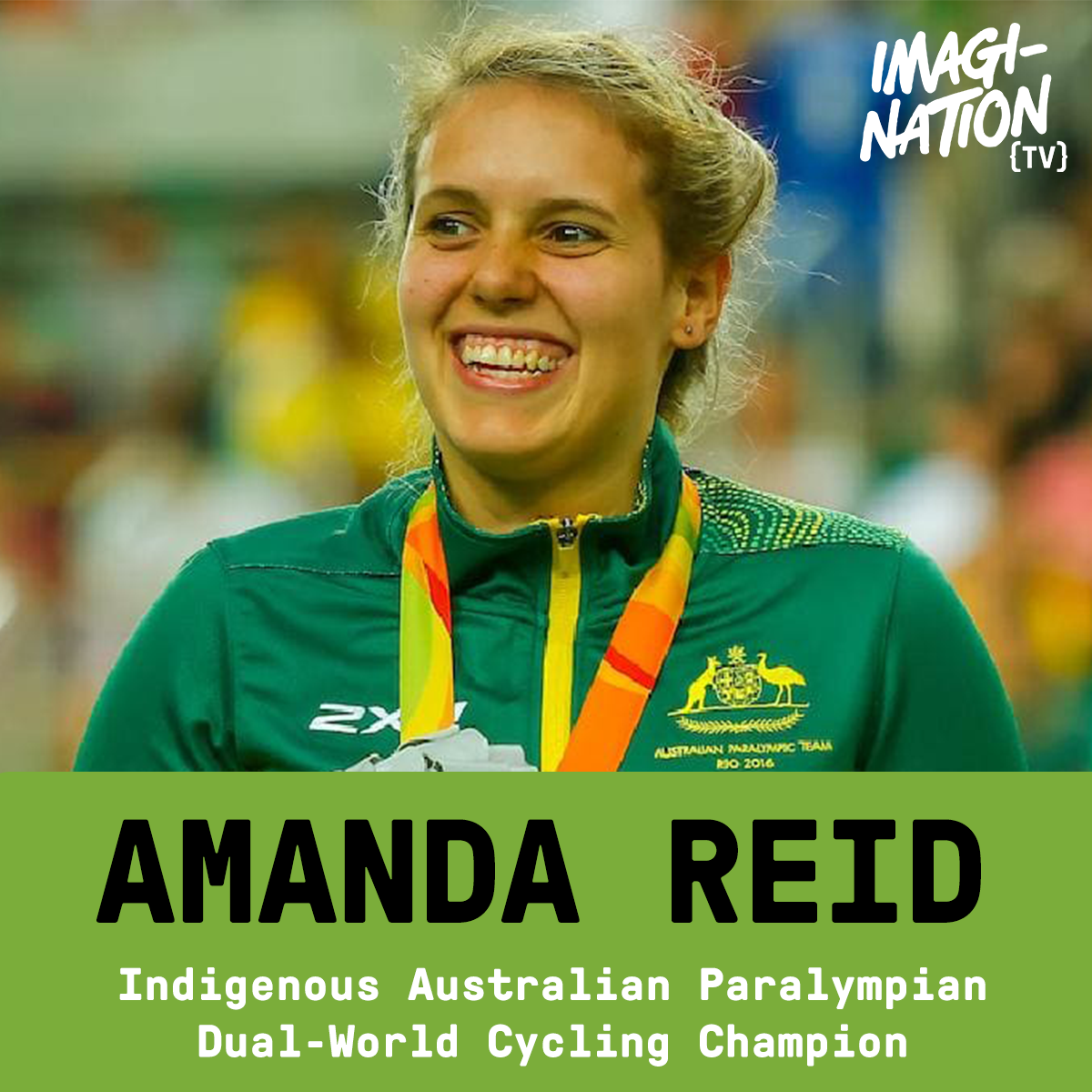 "Q&A - AMANDA REID ON DISCRIMINATION, BULLYING AND WINNING: ""I just leave it all on the track"""