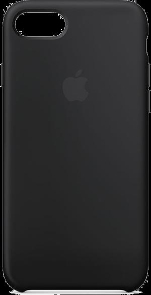Apple iPhone 7/8 Silicone Case Svart