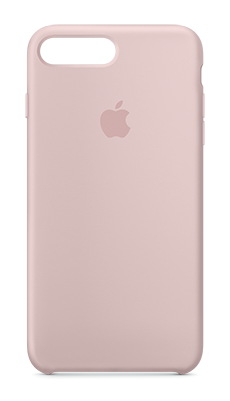 Apple iPhone 7 Plus Silicone Case Korallrosa