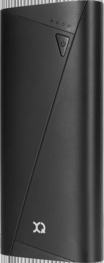 XQISIT PowerBank 10400mAh Black Svart