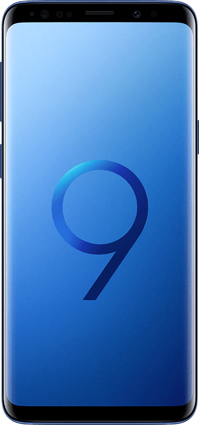 galaxys9 front blue