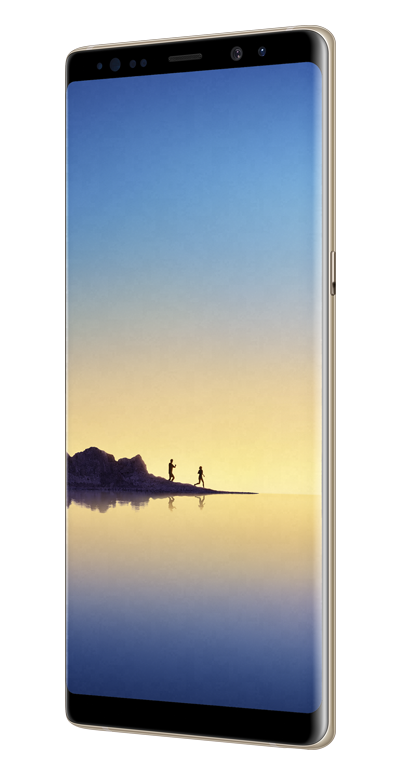 Samsung Galaxy Note8 Gull HoyreTilt