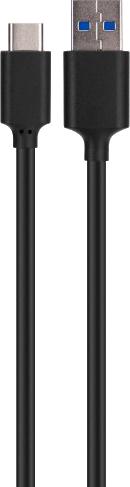 Xqisit USB C to USB DataCable 0,7M Black