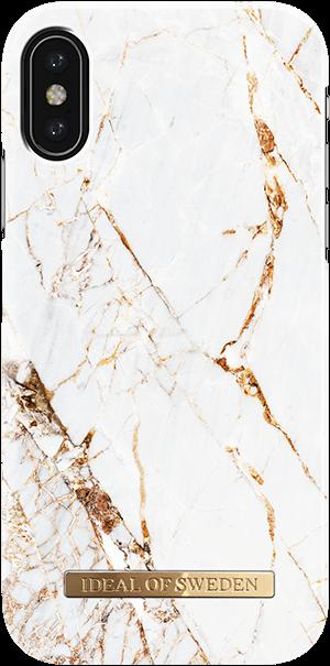Ideal of Sweden Case iPhone X/Xs Carrara Gold