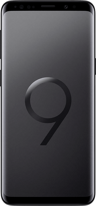 galaxys9 front black