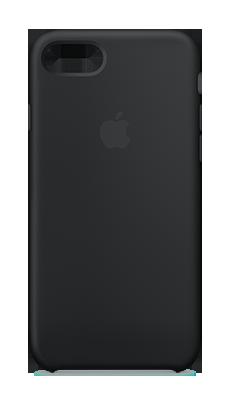 Apple iPhone 7/8Plus Silicone Case Svart