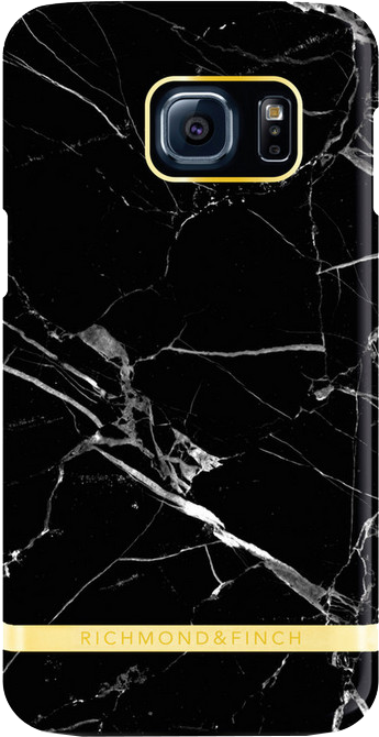 Richmond & Finch Marble Glossy Galaxy S7 Svart
