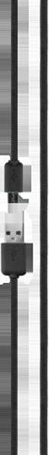 Xqisit Cotton Cable MicroUSB 1,8M Black