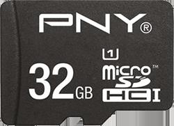 PNY MicroSD m/adapter 32GB