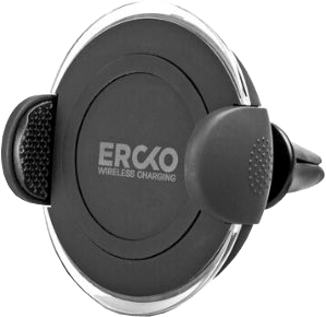 Ercko Wireless Charging Plate in Car Svart