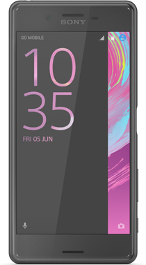 Sony Xperia X Performance Svart