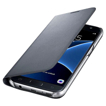 Samsung Galaxy s7 Flip Cover black