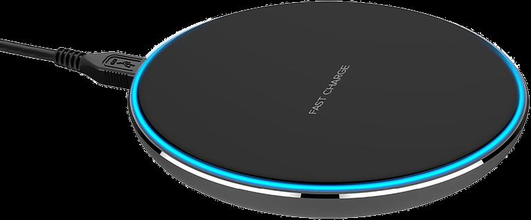 Xqisit Wireless Fast Charger 10W Svart